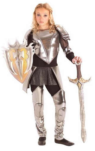 girl's knight costume