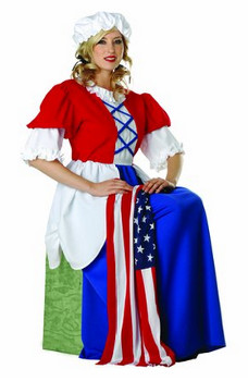 women patriotic costumes