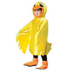 Rubber Ducky Toddler Costume Yellow Duck