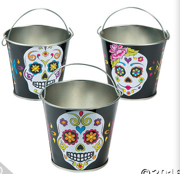 Day of the Dead Pails
