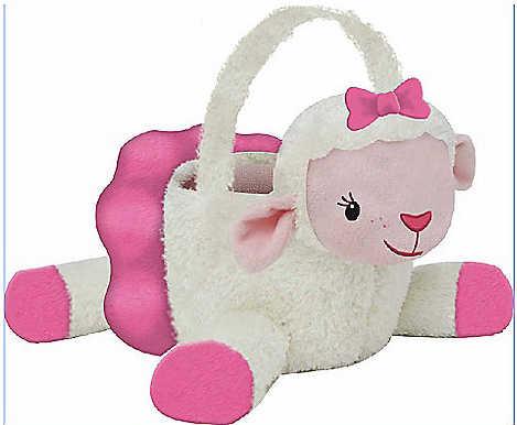 Plush Lambie Treat Bucket