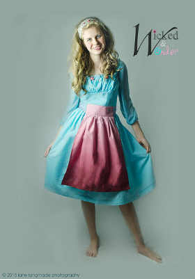 Cinderella Ella Dress 2015 Servant Girl Costume