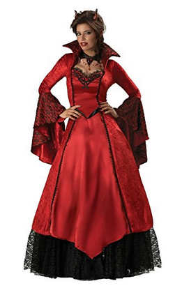 Devil's Temptress Adult Costume - Small